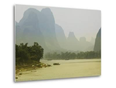Yangshuo, Li River, Guangxi Province, China, Asia-Angelo Cavalli-Metal Print