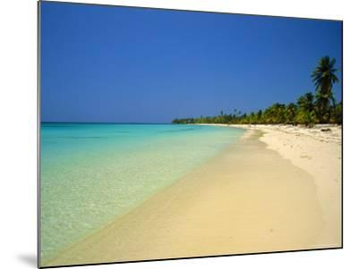 West Bay at the Western Tip of Roatan, Largest of the Bay Islands, Honduras, Caribbean, West Indies-Robert Francis-Mounted Photographic Print