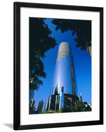 Shenzhen Development Centre, Shenzhen City, China-Robert Francis-Framed Photographic Print