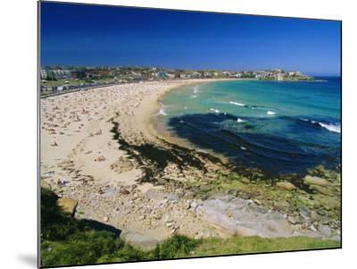 Bondi Beach, One of the City's Southern Ocean Suburbs, Sydney, New South Wales, Australia-Robert Francis-Mounted Photographic Print