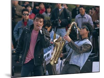 Singer and Musician, Horajuku, Tokyo, Japan, Asia-Rob Mcleod-Mounted Photographic Print