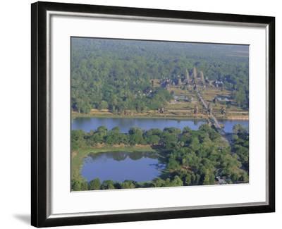 Angkor Wat, Siem Reap, Cambodia, Indochina, Asia-Bruno Morandi-Framed Photographic Print