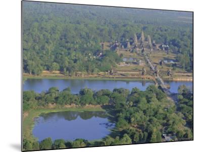 Angkor Wat, Siem Reap, Cambodia, Indochina, Asia-Bruno Morandi-Mounted Photographic Print