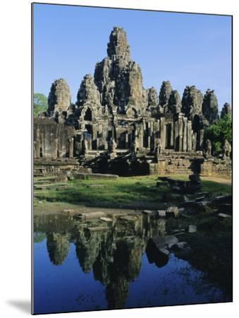The Bayon Temple, Angkor, Siem Reap, Cambodia, Indochina, Asia-Bruno Morandi-Mounted Photographic Print