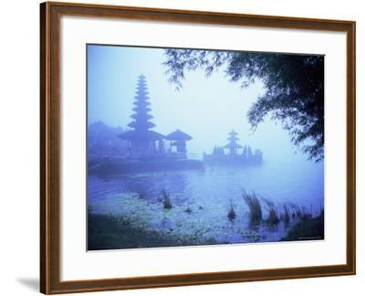 Hindu Temple of Bataun in the Mist, Island of Bali, Indonesia, Southeast Asia, Asia-Bruno Morandi-Framed Photographic Print