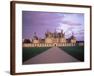 Chateau of Chambord, Loir Et Cher, Region De La Loire, Loire Valley, France-Bruno Morandi-Framed Photographic Print