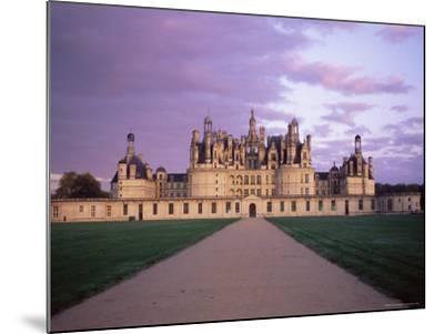 Chateau of Chambord, Loir Et Cher, Region De La Loire, Loire Valley, France-Bruno Morandi-Mounted Photographic Print