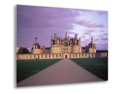 Chateau of Chambord, Loir Et Cher, Region De La Loire, Loire Valley, France-Bruno Morandi-Metal Print