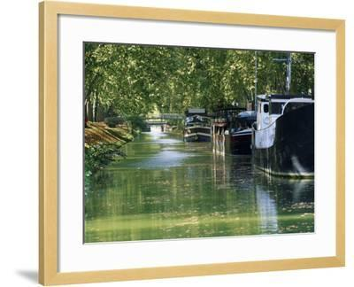 Brienne Canal, Toulouse, Haute-Garonne, Midi-Pyrenees, France, Europe--Framed Photographic Print