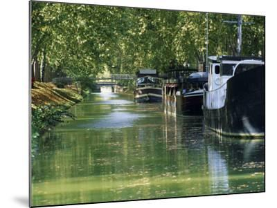 Brienne Canal, Toulouse, Haute-Garonne, Midi-Pyrenees, France, Europe--Mounted Photographic Print