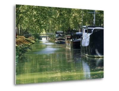 Brienne Canal, Toulouse, Haute-Garonne, Midi-Pyrenees, France, Europe--Metal Print