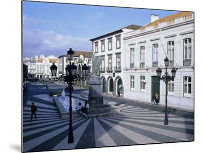 Town of Ponta Delgada, Sao Miguel Island, Azores, Portugal, Europe, Atlantic Ocean-J P De Manne-Mounted Photographic Print