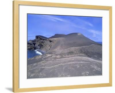 Volcanic Landscape, Pointe De Capelinhos (Capelinhos Point), Faial Island, Azores, Portugal-J P De Manne-Framed Photographic Print