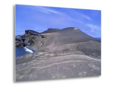 Volcanic Landscape, Pointe De Capelinhos (Capelinhos Point), Faial Island, Azores, Portugal-J P De Manne-Metal Print