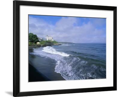 Beach of Town of Lagoa, Sao Miguel Island, Azores, Portugal, Europe, Atlantic Ocean-J P De Manne-Framed Photographic Print