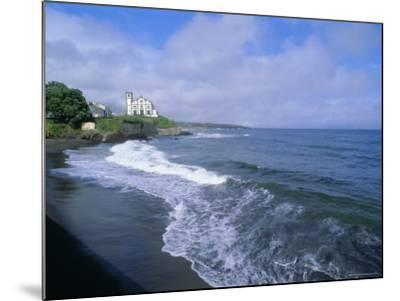 Beach of Town of Lagoa, Sao Miguel Island, Azores, Portugal, Europe, Atlantic Ocean-J P De Manne-Mounted Photographic Print