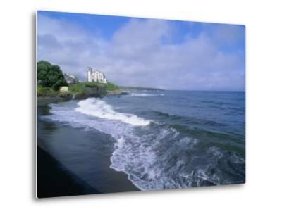 Beach of Town of Lagoa, Sao Miguel Island, Azores, Portugal, Europe, Atlantic Ocean-J P De Manne-Metal Print