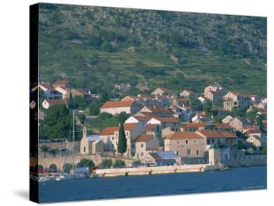 Bol Village, Brac Island, Dalmatia, Dalmatian Coast, Adriatic, Croatia, Europe-J P De Manne-Stretched Canvas Print