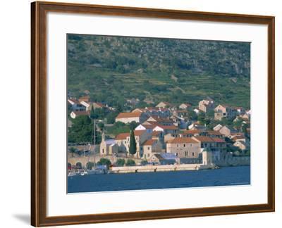 Bol Village, Brac Island, Dalmatia, Dalmatian Coast, Adriatic, Croatia, Europe-J P De Manne-Framed Photographic Print