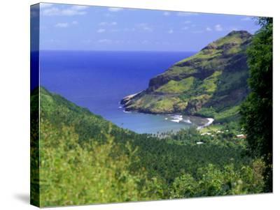 Hane Bay, Ua Huka Island, Marquesas Islands Archipelago, French Polynesia, South Pacific Islands-J P De Manne-Stretched Canvas Print