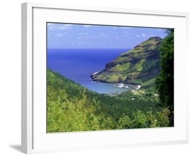 Hane Bay, Ua Huka Island, Marquesas Islands Archipelago, French Polynesia, South Pacific Islands-J P De Manne-Framed Photographic Print