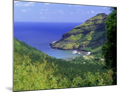 Hane Bay, Ua Huka Island, Marquesas Islands Archipelago, French Polynesia, South Pacific Islands-J P De Manne-Mounted Photographic Print