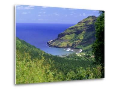 Hane Bay, Ua Huka Island, Marquesas Islands Archipelago, French Polynesia, South Pacific Islands-J P De Manne-Metal Print