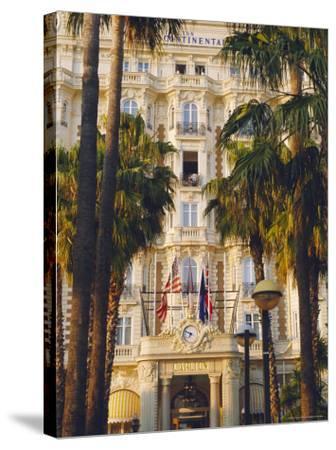 The Carlton Hotel on the Croisette, Cannes, Alpes Maritime, France-J P De Manne-Stretched Canvas Print
