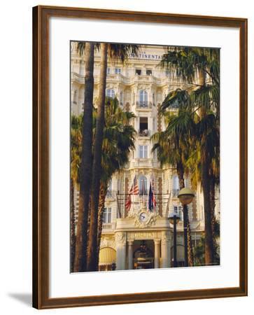The Carlton Hotel on the Croisette, Cannes, Alpes Maritime, France-J P De Manne-Framed Photographic Print