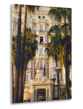 The Carlton Hotel on the Croisette, Cannes, Alpes Maritime, France-J P De Manne-Metal Print