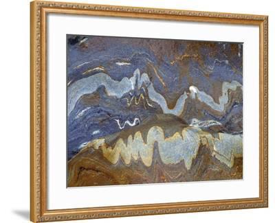 River Rock Intrusions, Val Verzasca, Ticino, Switzerland-Art Wolfe-Framed Photographic Print