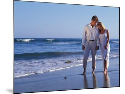 Couple on Vacation at Tropical Beach-Bill Bachmann-Mounted Photographic Print