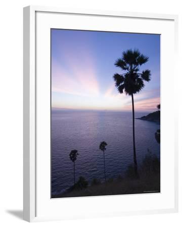 Phromthep Cape, Phuket, Thailand, Southeast Asia, Asia-Sergio Pitamitz-Framed Photographic Print