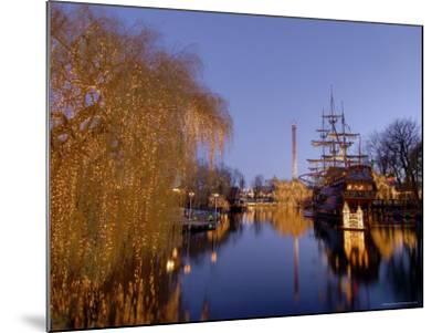 Tivoli Gardens at Christmas, Copenhagen, Denmark, Scandinavia, Europe-Sergio Pitamitz-Mounted Photographic Print