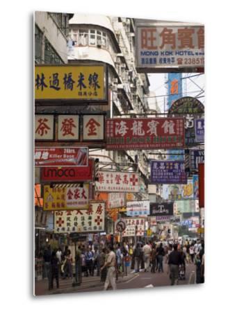 Fa Yuen Street, Mong Kok District, Kowloon, Hong Kong, China, Asia-Sergio Pitamitz-Metal Print