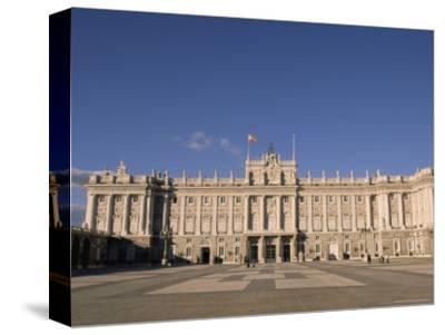 Palacio Real (Royal Palace), Madrid, Spain, Europe-Sergio Pitamitz-Stretched Canvas Print