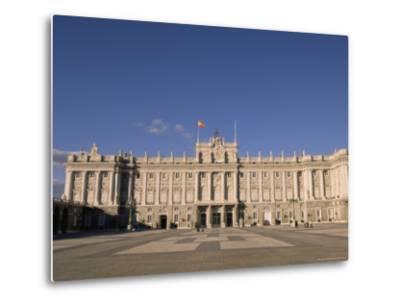 Palacio Real (Royal Palace), Madrid, Spain, Europe-Sergio Pitamitz-Metal Print