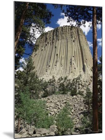 Devil's Tower, Devil's Tower National Monument, Wyoming, United States of America, North America-James Emmerson-Mounted Photographic Print
