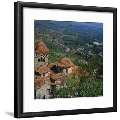 Pantanassa Monastery, Mistras, Greece, Europe-Tony Gervis-Framed Premium Photographic Print