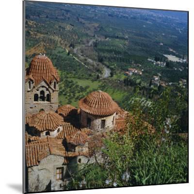 Pantanassa Monastery, Mistras, Greece, Europe-Tony Gervis-Mounted Premium Photographic Print