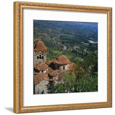 Pantanassa Monastery, Mistras, Greece, Europe-Tony Gervis-Framed Photographic Print