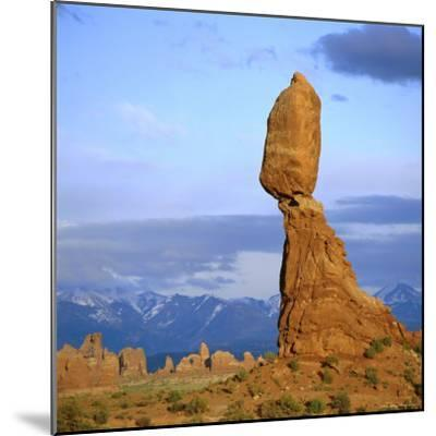 Balanced Rock, Arches National Park, Utah, USA-Tony Gervis-Mounted Photographic Print