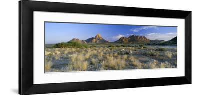 Panoramic View, Spitzkoppe, Namibia, Africa-Lee Frost-Framed Photographic Print