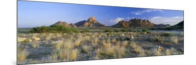 Panoramic View, Spitzkoppe, Namibia, Africa-Lee Frost-Mounted Photographic Print
