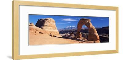 Delicate Arch, Arches National Park, Moab, Utah, United States of America (U.S.A.), North America-Lee Frost-Framed Photographic Print