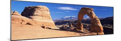 Delicate Arch, Arches National Park, Moab, Utah, United States of America (U.S.A.), North America-Lee Frost-Mounted Photographic Print