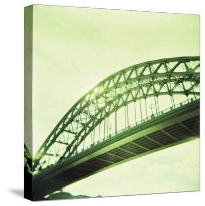 Arched Bridge Over River Tyne, Newcastle Upon Tyne, Tyne and Wear, England, United Kingdom, Europe-Lee Frost-Stretched Canvas Print