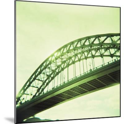 Arched Bridge Over River Tyne, Newcastle Upon Tyne, Tyne and Wear, England, United Kingdom, Europe-Lee Frost-Mounted Photographic Print