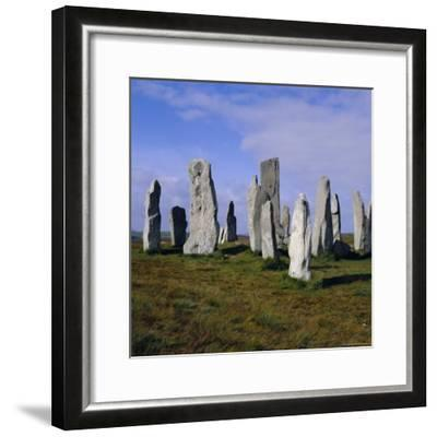 Callanish Standing Stones, Lewis, Outer Hebrides, Scotland, UK, Europe-Michael Jenner-Framed Photographic Print