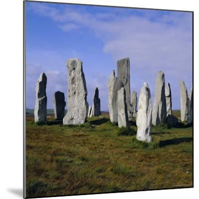 Callanish Standing Stones, Lewis, Outer Hebrides, Scotland, UK, Europe-Michael Jenner-Mounted Photographic Print